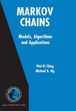 Markov Chains: Models, Algorithms and Applications