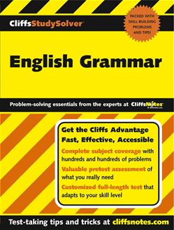 CliffsStudySolver<small>TM</small> English Grammar