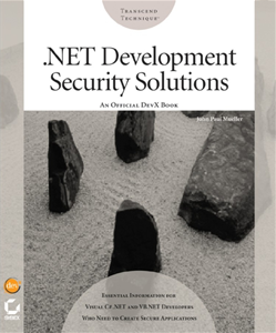 .NET Development Security Solutions<small>TM</small>