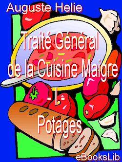 Traité Général de la Cuisine Maigre - I - Potages