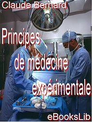 Téléchargez le livre :  Principes de médecine expérimentale