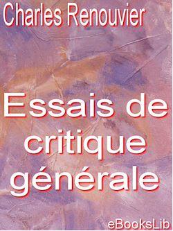Essais de critique générale