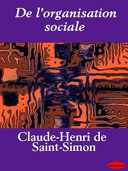 De l'organisation sociale