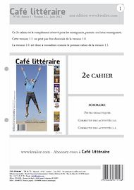 Téléchargez le livre :  Café littéraire N°10 - Juin 2012 - Version 1.1.