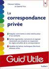 Télécharger le livre :  La correspondance privée