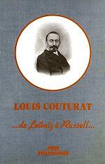 Téléchargez le livre :  L'œuvre de Louis Couturat (1868-1914)