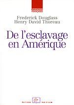 Téléchargez le livre :  De l'esclavage en Amérique