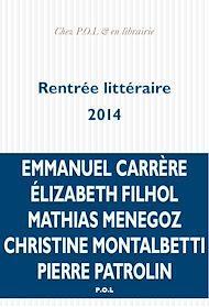 Téléchargez le livre :  La rentrée littéraire 2014 - extraits