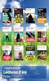 Téléchargez le livre numérique:  Extraits gratuits - Lectures d'été Folio 2015