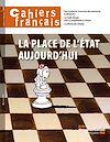 Télécharger le livre :  Cahiers français  : La place de l'État aujourd'hui - n°379