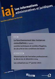 Téléchargez le livre :  IAJ : Pérennisation de l'entretien professionnel dans la FPT