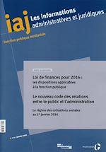 Download this eBook Le nouveau code des relations entre le public et l'administration