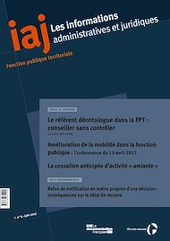 Téléchargez le livre :  Le référent déontologue dans la FPT : conseiller sans contrôler