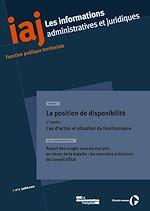 Download this eBook La position de disponibilité (1ère partie) : cas d'octroi et situation du fonctionnaire
