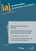 Download this eBook IAJ : Report de la mise en œuvre du PPCR - Janvier 2018