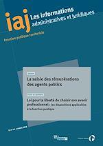Download this eBook IAJ : La saisie des rémunérations des agents publics - octobre 2018