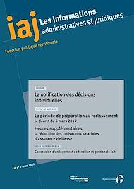 Téléchargez le livre :  IAJ : La notification des décisions individuelles - Mars 2019