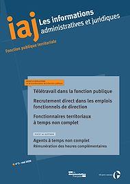 Téléchargez le livre :  IAJ : Télétravail dans la fonction publique - Mai 2020