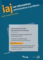 Téléchargez le livre :  IAJ : Les accords collectifs dans la fonction publique - Juin 2020