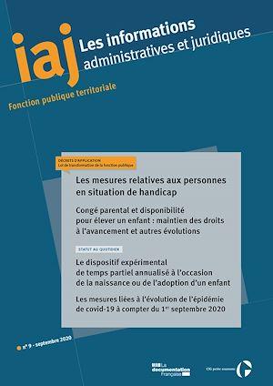 Téléchargez le livre :  IAJ : Les mesures relatives aux personnes en situation de handicap - Septembre 2020