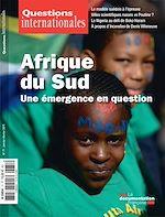 Téléchargez le livre :  Questions internationales : Afrique du Sud, une émergence en question - n°71