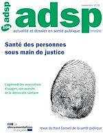 Téléchargez le livre :  Santé des personnes sous main de justice