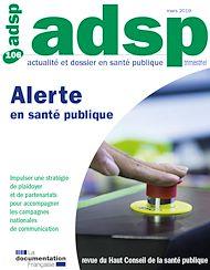 Téléchargez le livre :  Alerte en santé publique