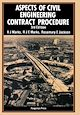 Download this eBook Aspects of Civil Engineering Contract Procedure