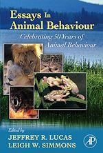 Download this eBook Essays in Animal Behaviour