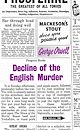 Download this eBook Decline of the English Murder