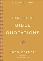 Download this eBook Bartlett's Bible Quotations