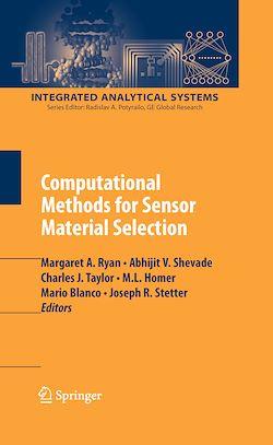 Computational Methods for Sensor Material Selection
