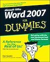 Télécharger le livre :  Word 2007 For Dummies