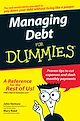 Download this eBook Managing Debt For Dummies