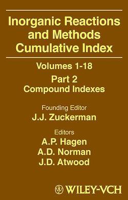 Inorganic Reactions and Methods, Cumulative Index, Part 2