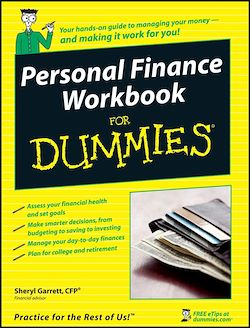 Personal Finance Workbook For Dummies<sup>®</sup>