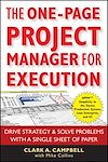 Télécharger le livre :  The One-Page Project Manager for Execution