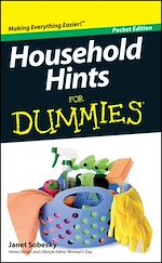Download this eBook Household Hints For Dummies, Pocket Edition
