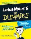 Télécharger le livre :  Lotus Notes 6 For Dummies