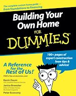 Download this eBook Building Your Own Home For Dummies