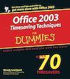 Télécharger le livre :  Office 2003 Timesaving Techniques For Dummies