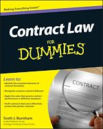 Download this eBook Contract Law For Dummies