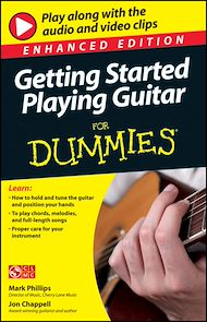 Téléchargez le livre :  Getting Started Playing Guitar For Dummies, Enhanced Edition