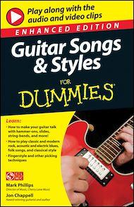 Téléchargez le livre :  Guitar Songs and Styles For Dummies, Enhanced Edition