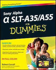 Téléchargez le livre :  Sony Alpha SLT-A35 / A55 For Dummies