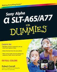 Téléchargez le livre :  Sony Alpha SLT-A65 / A77 For Dummies