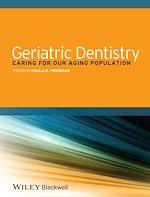 Télécharger cet ebook : Geriatric Dentistry
