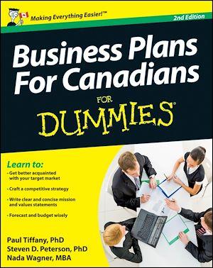 Téléchargez le livre :  Business Plans For Canadians for Dummies