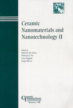 Ceramic Nanomaterials and Nanotechnology II