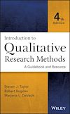 Télécharger le livre :  Introduction to Qualitative Research Methods
